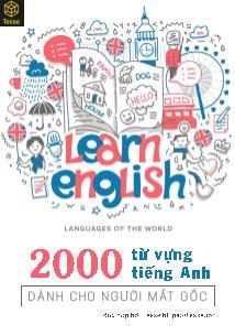 2000 từ vựng tiếng Anh dành cho người mất gốc