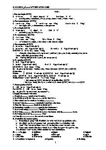 English 12 Basic - Revision Exercies