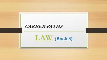 Bài giảng nói Tiếng Anh luật