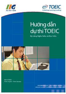 Hướng dẫn dự thi Toeic (Kỹ năng nghe hiểu và đọc hiểu)